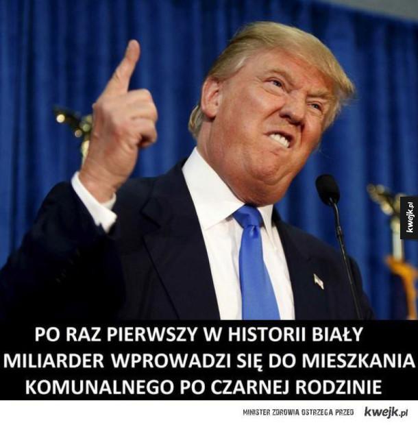 Najlepsze memy po inaguracji Trumpa na prezydenta