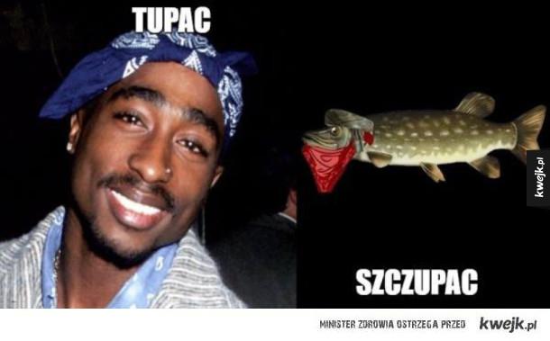 Tupac i szczupak