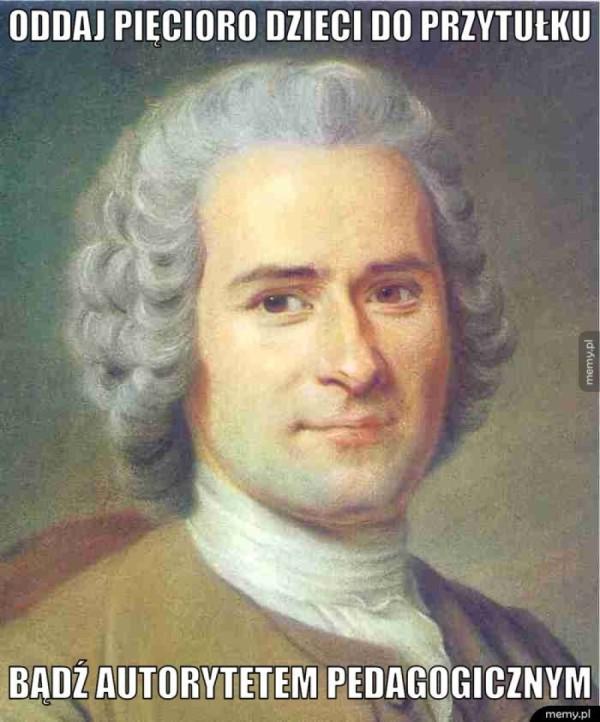 Rousseau śmieszek