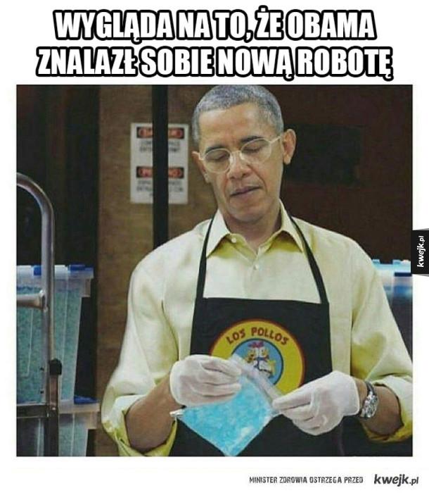 Nowa robota Obamy