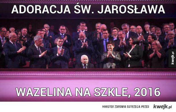 Adoracja św. Jarosława