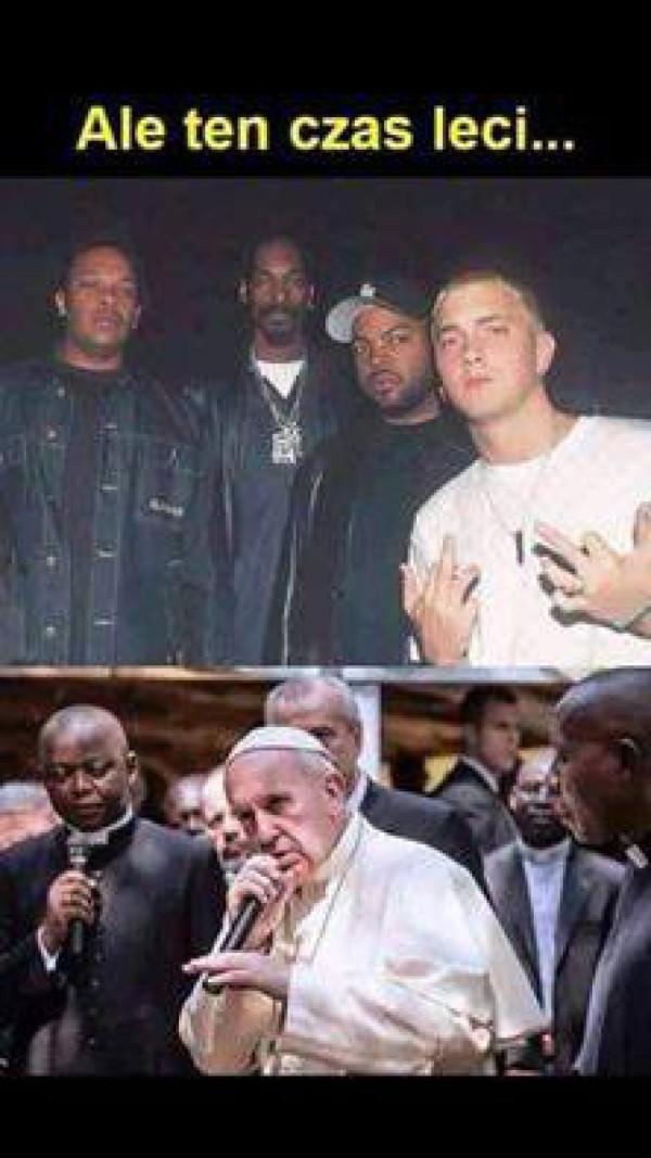 Papież Franciszek, znany raper