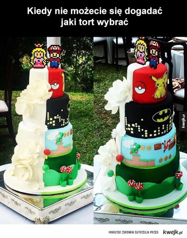 jaki fajny tort