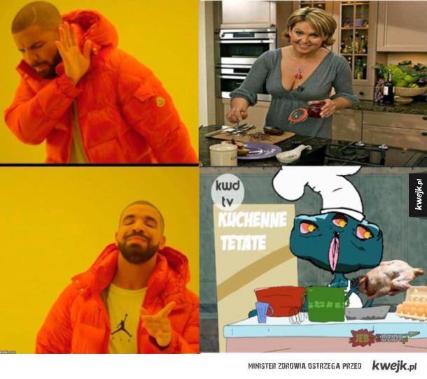 kuchenne tetate