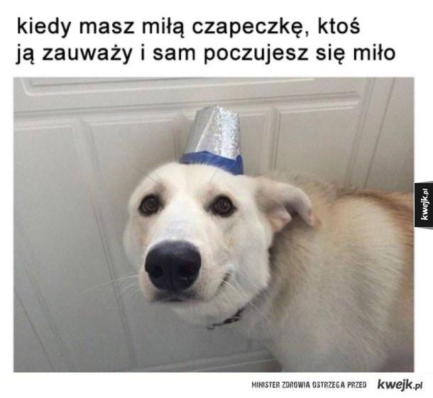 Miła czapeczka