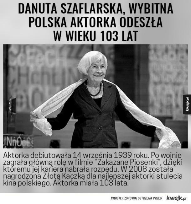 Legenda polskiego kina nie żyje