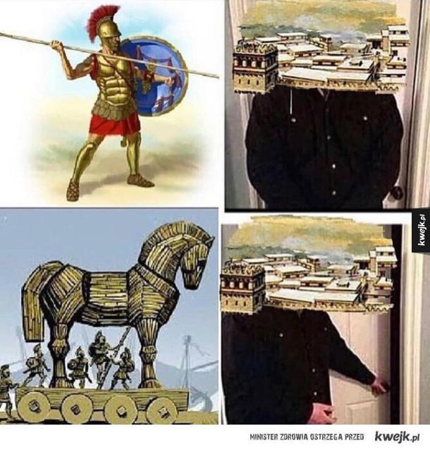 Troja to dziwne miasto