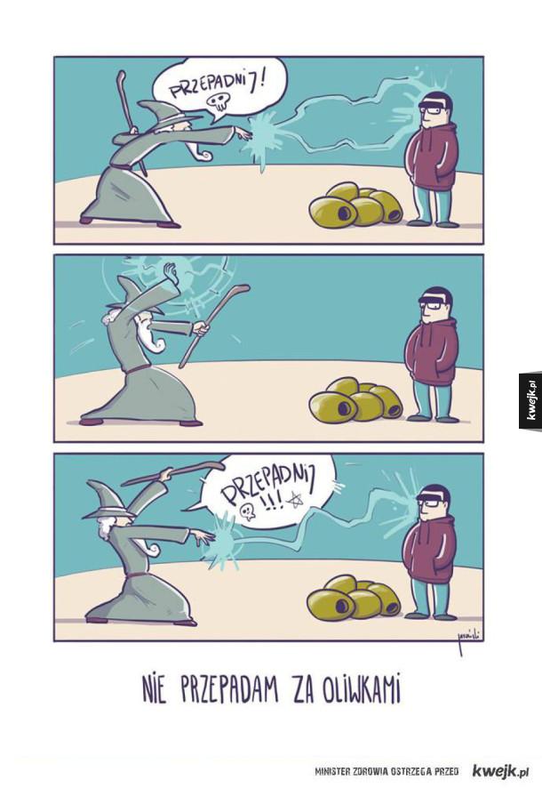 Jaroński - Nie przepadam za oliwkami