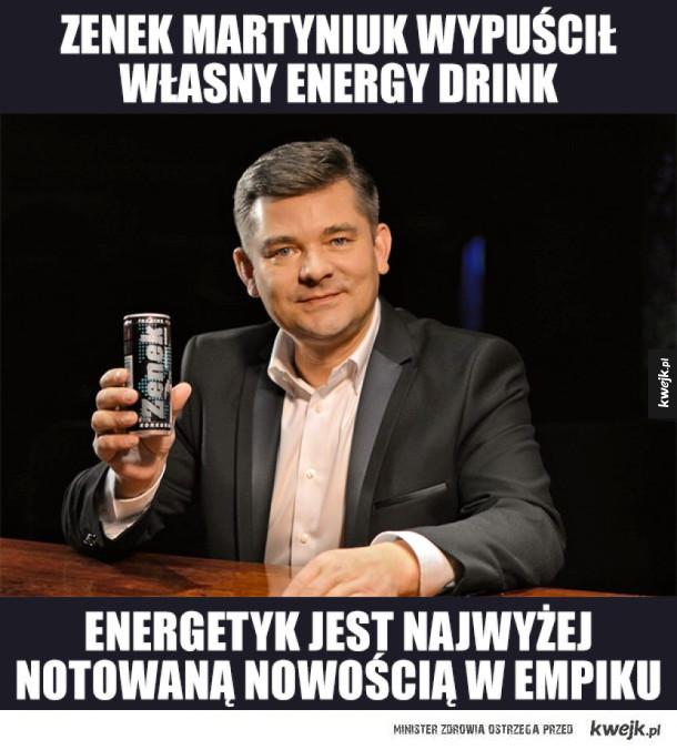 Zenek Martyniuk Energy Drink
