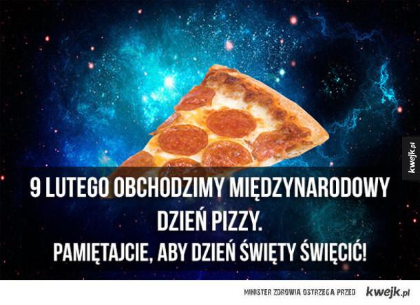 Porcja ciekawostek o pizzy z okazji Międzynarodowego Dnia Pizzy