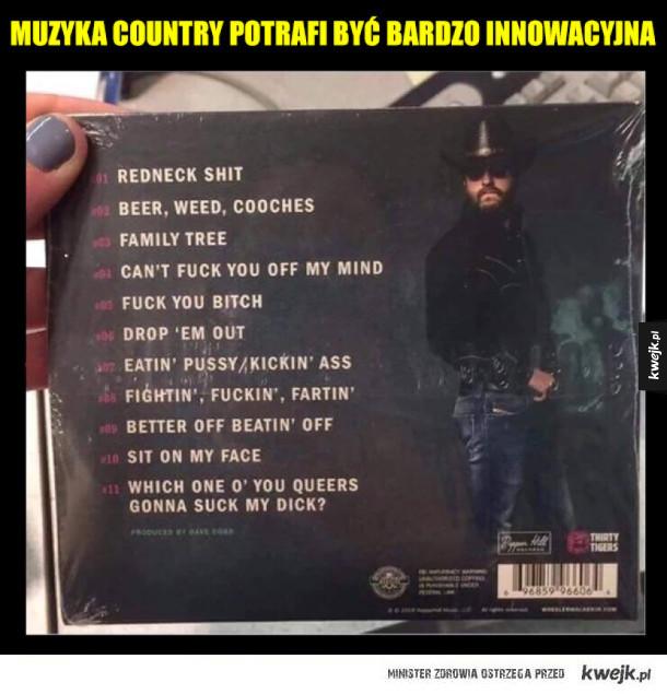 Muzyka country potrafi zaskoczyć