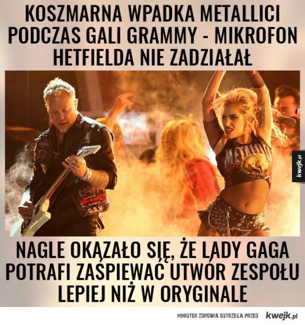 Co ta Lady Gaga, to ja nie