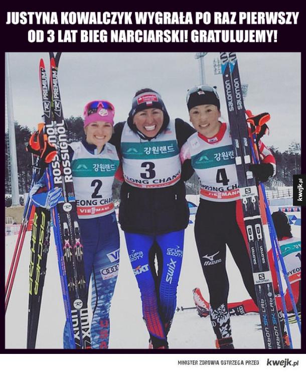 Brawo Justyna!!!