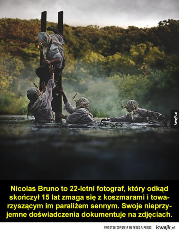 Senne koszmary na fotografiach Nicolasa Bruno
