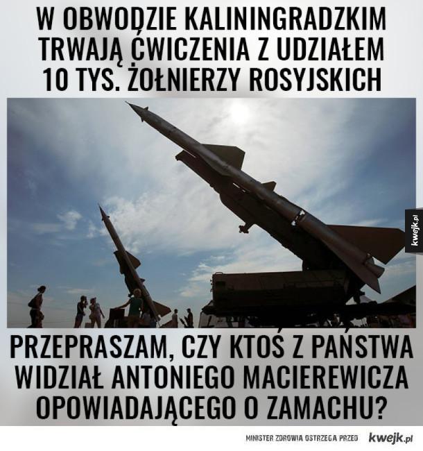 Macierewicz stronk