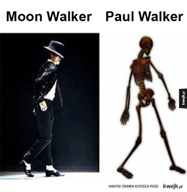 Moon Walker vs Paul Walker