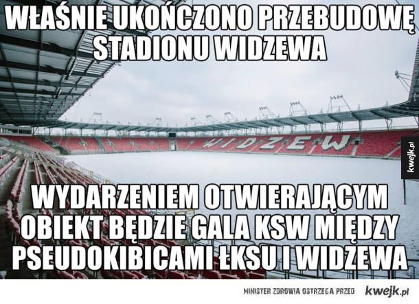 Stadion Widzewa ukończony! :)