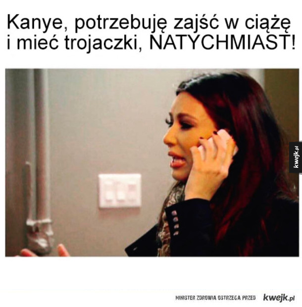 Kim Kardashian jest bardzo zazdrosna o ciążę Beyonce