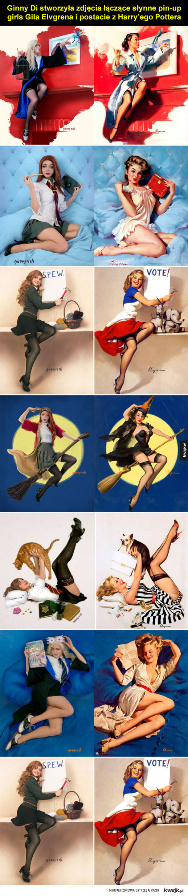 Pin-up girls z Harry'ego Pottera