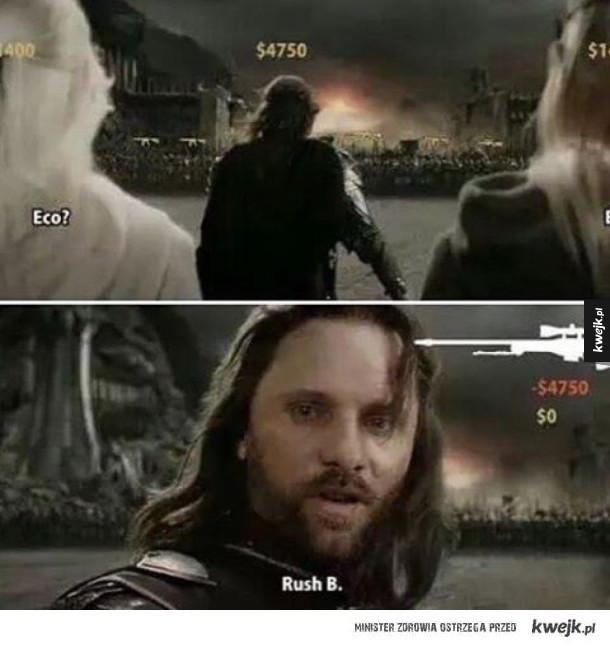 Aragorn wam powie co robić