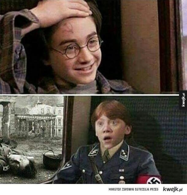Harry zaskoczył Rona
