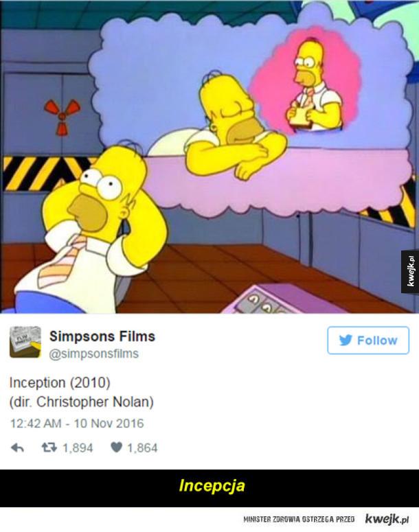 Filmowe hity w wykonaniu Simpsonów