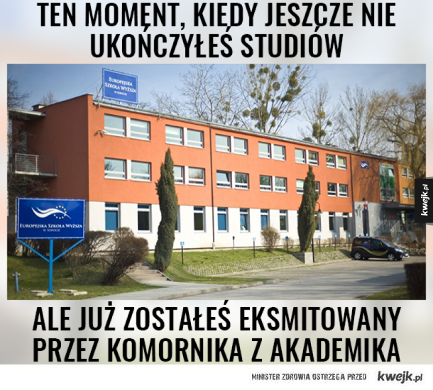 Komornik (!) eksmitował (!!) studentów (!!!) z akademika uczelni (!!!!) w Sopocie