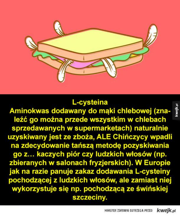 Trochę okropne składniki żywności
