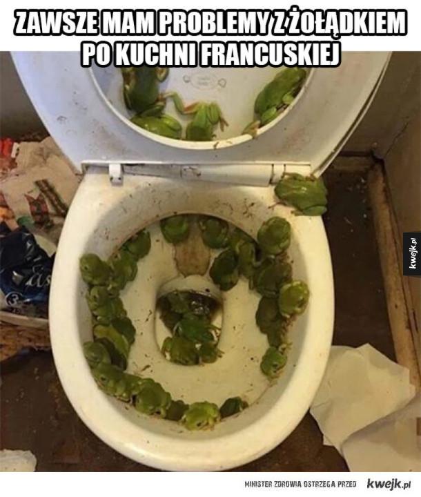 Problemy po kuchni francuskiej