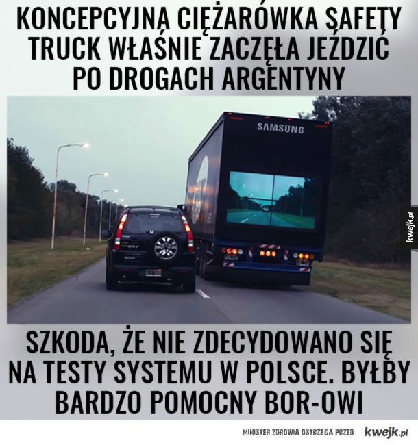Przydałoby się w Polsce :V