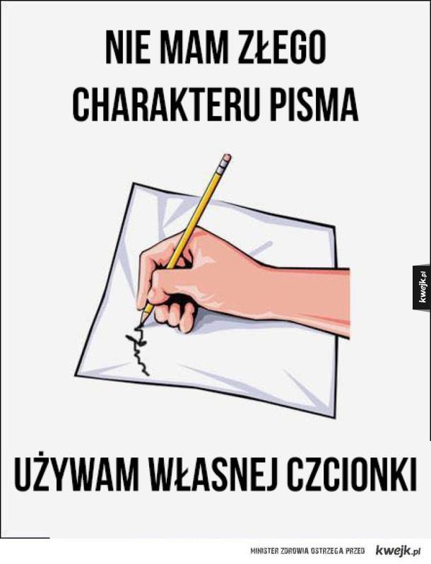 Charakter pisma