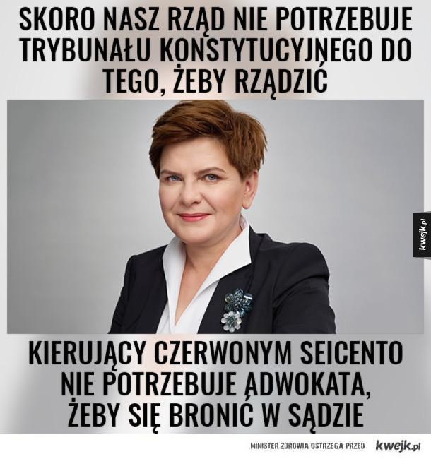 Porada premier Szydło