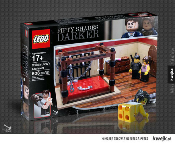 Lego 50 twarzy greya