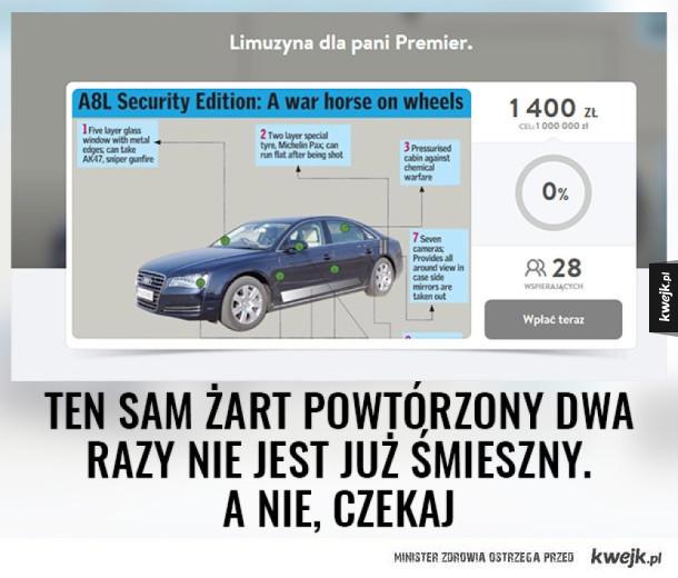 Zbiórka na Audi dla BOR