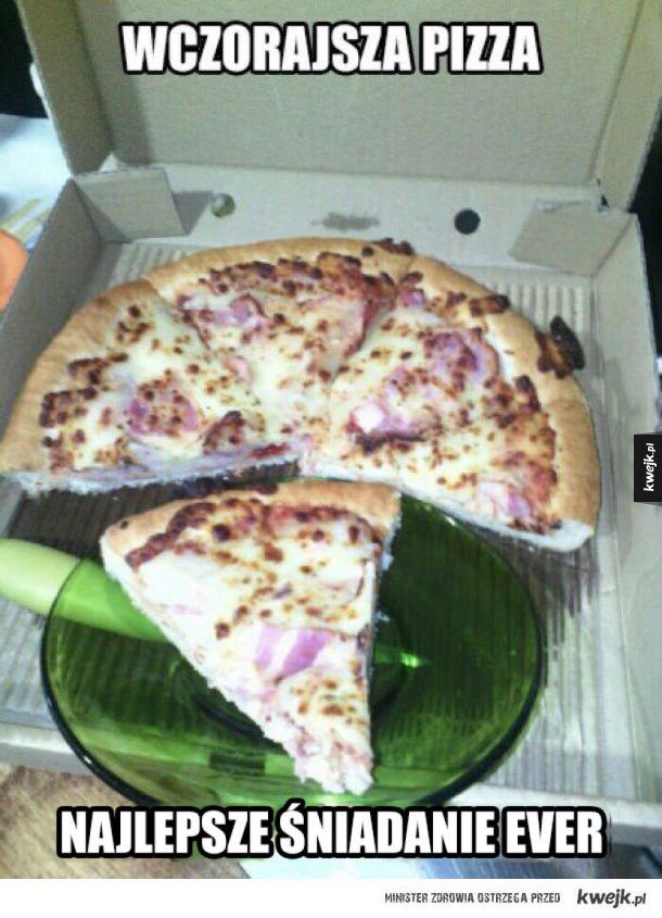 Pizzowe memy z okazji Dnia Pizzy