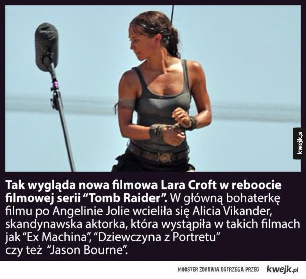 Nowy Tomb Raider - nowa Lara Croft!