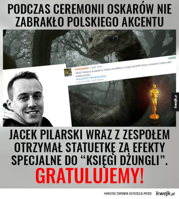 Polski akcent na rozdaniu Oscarów!