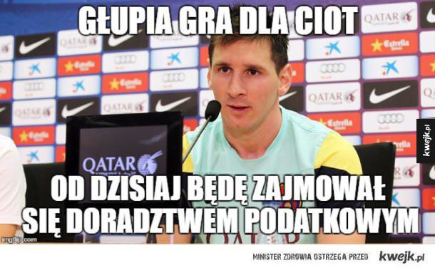 Messi po wczoraj xD