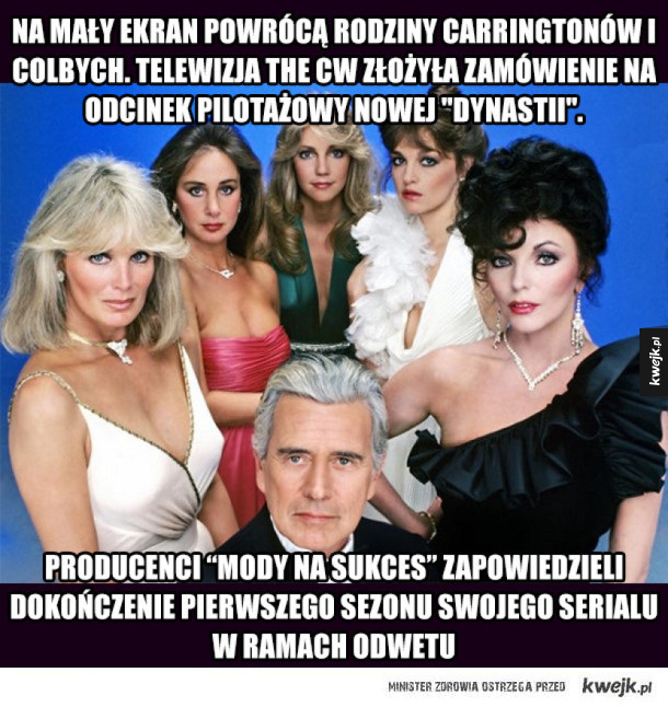 "Serial ""Dynastia"" powraca"