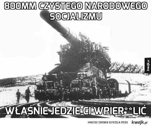 Socjalizm już puka do Twych drzwi