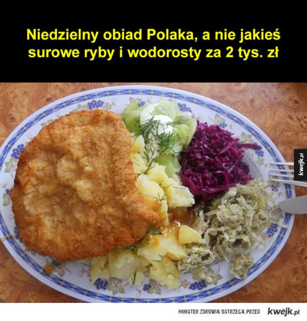 Niedzielny obiad Polaka