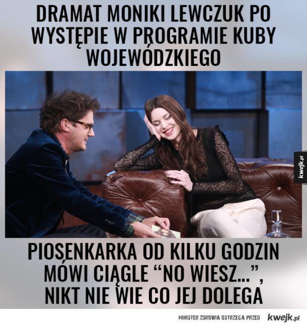 Monika Lewczuk u Wojewódzkiego