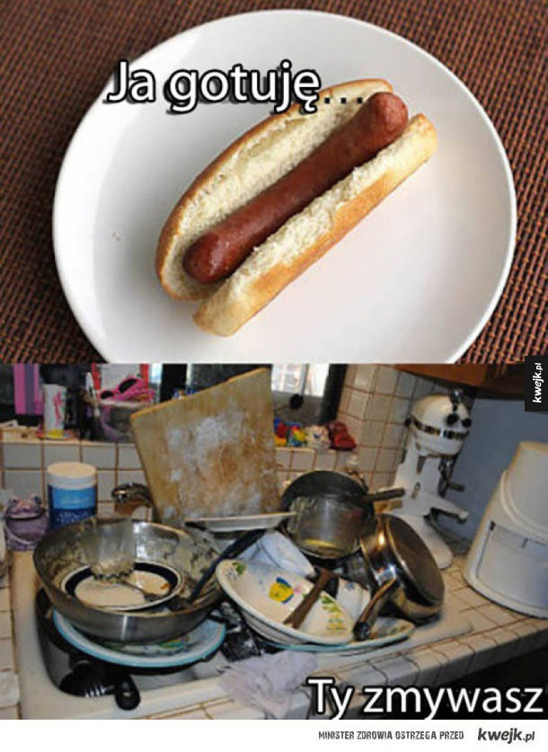 Kiedy laska bierze się za gotowanie