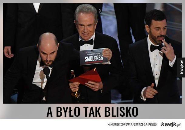 Największy przegrany Oscarów