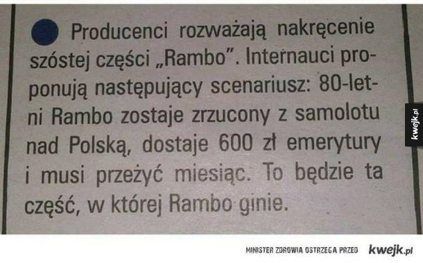 Rambo w Polsce?!