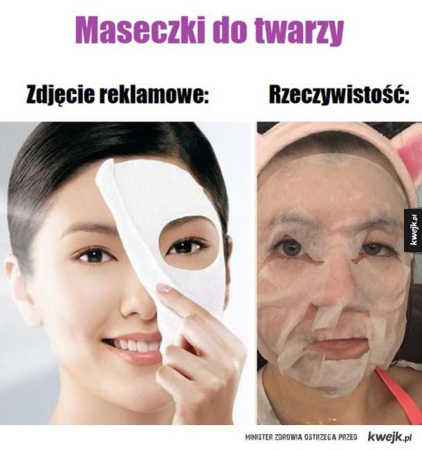Maseczki do twarzy