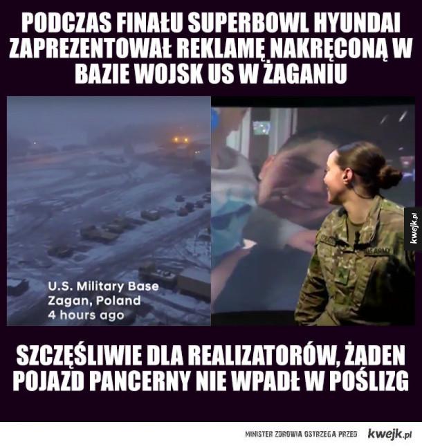 Polski akcent w reklamie na Superbowl