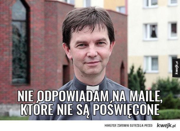 Najlepsze memy z przygodami korpoksiędza w Lotosie
