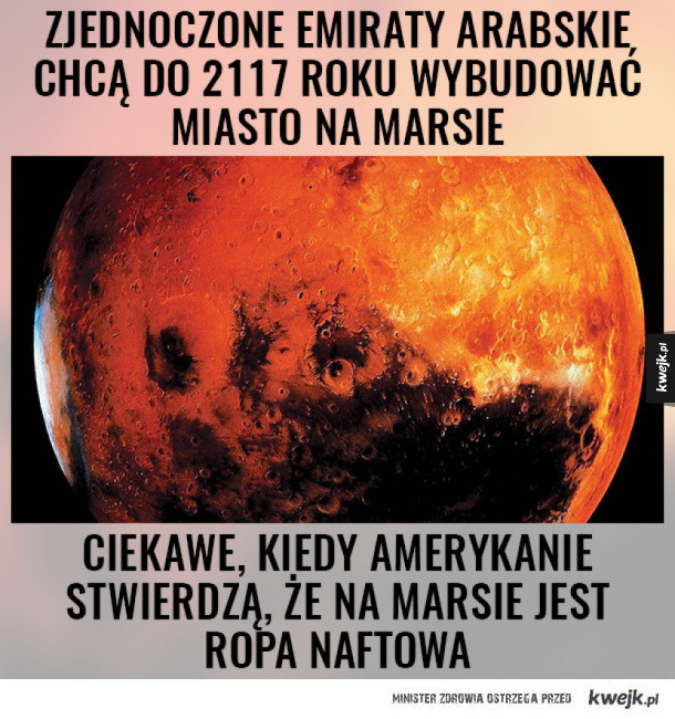 Demokracja na Marsie za 3, 2, 1...