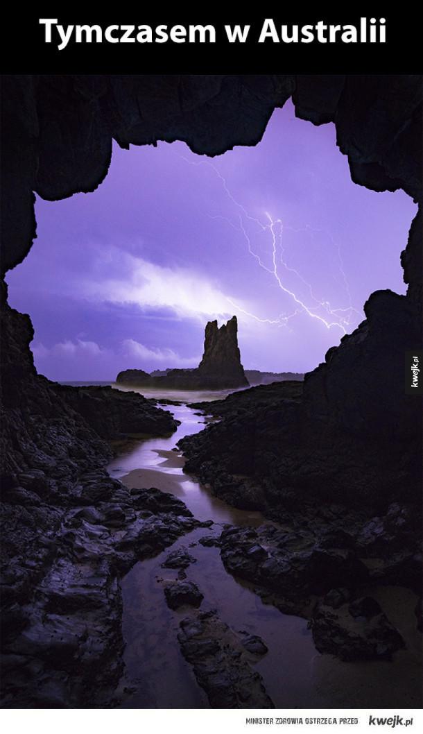 Cathedral Rocks Kiama, Australia